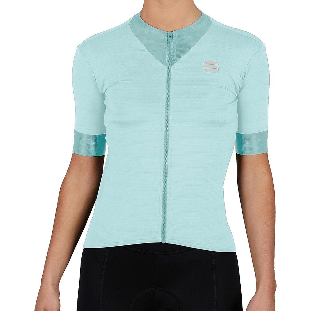 Sportful Womens Kelly Short Sleeve Jersey - Blue Sky - Xs  Blue Sky