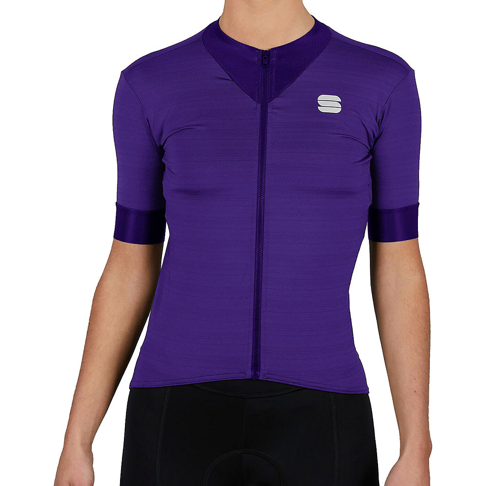 Sportful Womens Kelly Short Sleeve Jersey - Violet - Xl  Violet