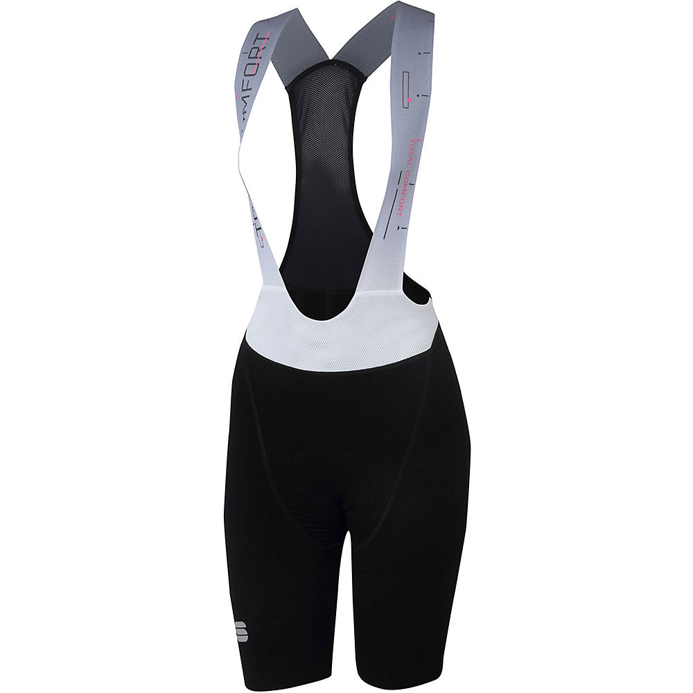 Sportful Womens Total Comfort Bibshort - Black - Xs  Black