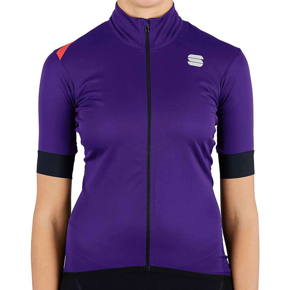 Sportful Women's Fiandre Light NoRain SS Jacket - Violet, Violet