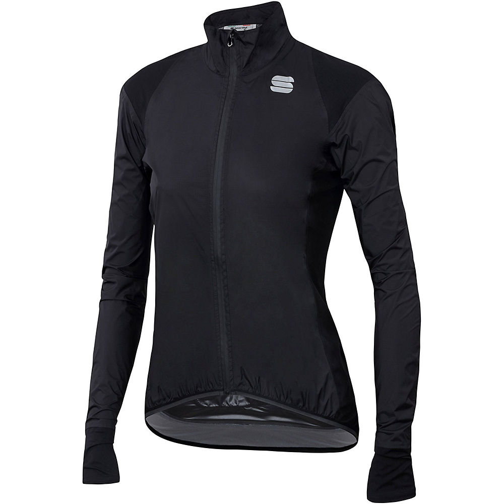 Sportful Womens Hot Pack No Rain Jacket 2.0 - Black - Xs  Black