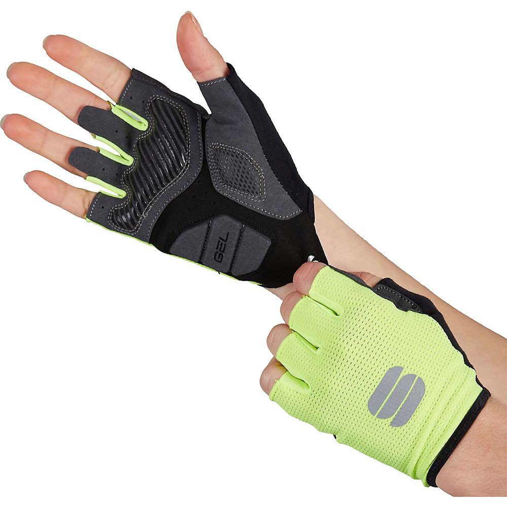 Sportful Womens Tc Gloves  - Yellow  Yellow