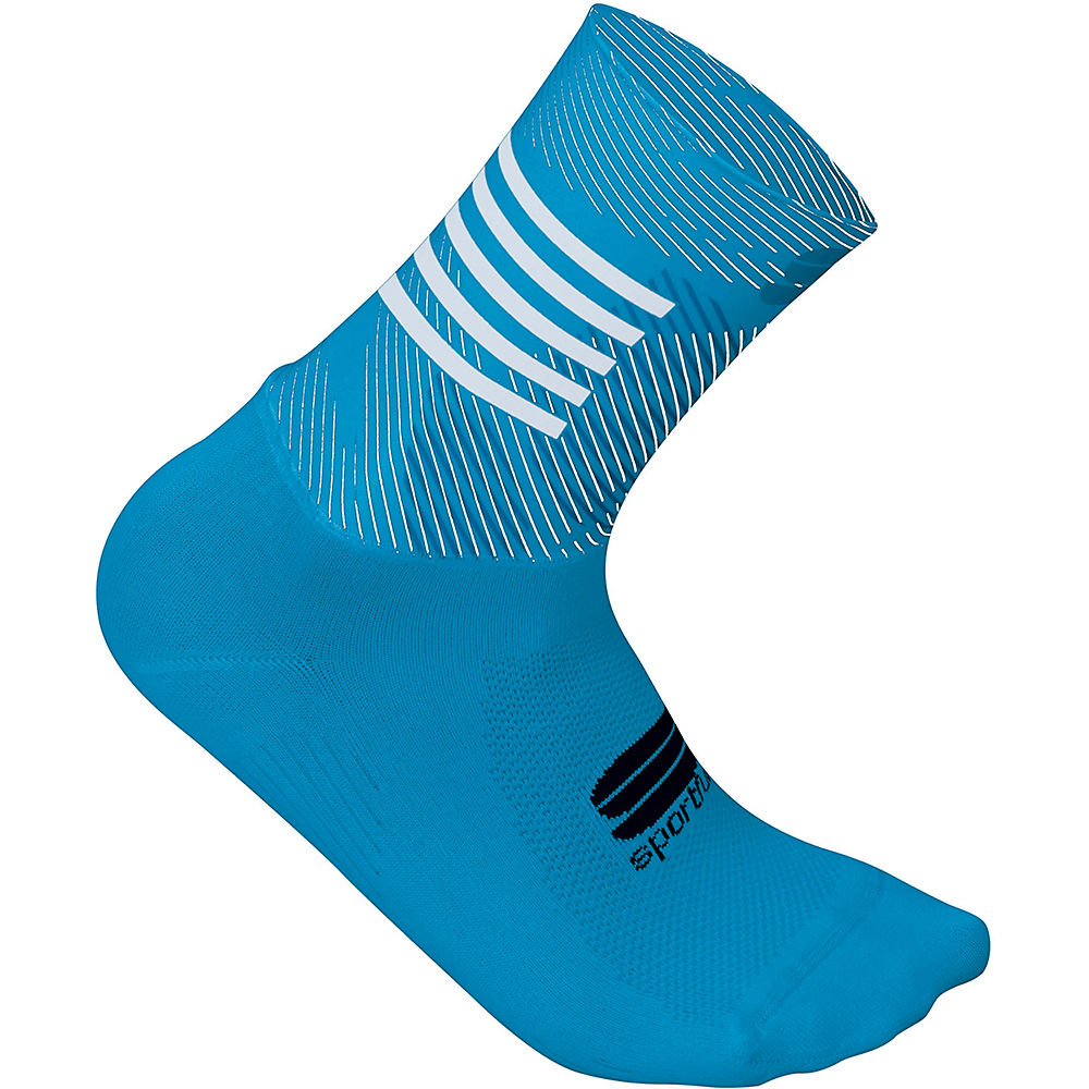 Sportful Womens Oasis Socks  - Blue Atomic-methyl Blue-white - S/m  Blue Atomic-methyl Blue-white