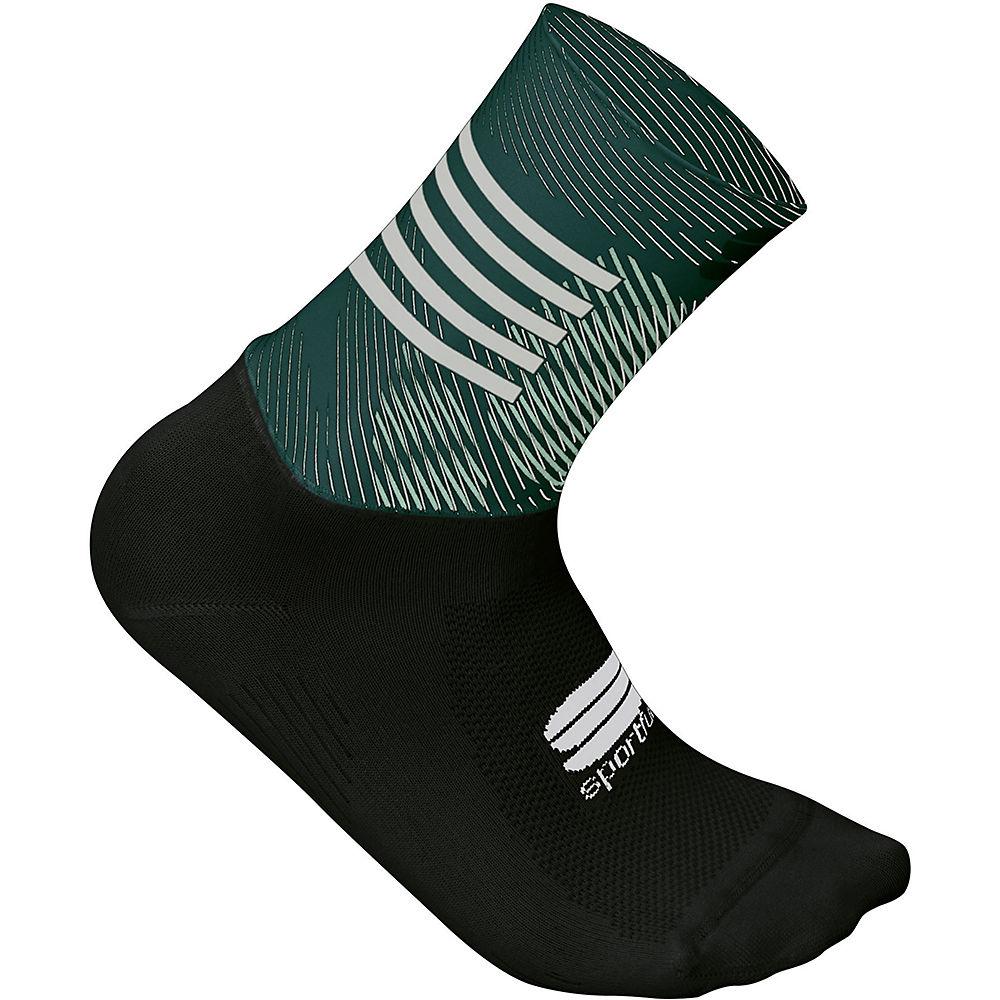Sportful Womens Oasis Socks  - Sea Moss-green-white - S/m  Sea Moss-green-white