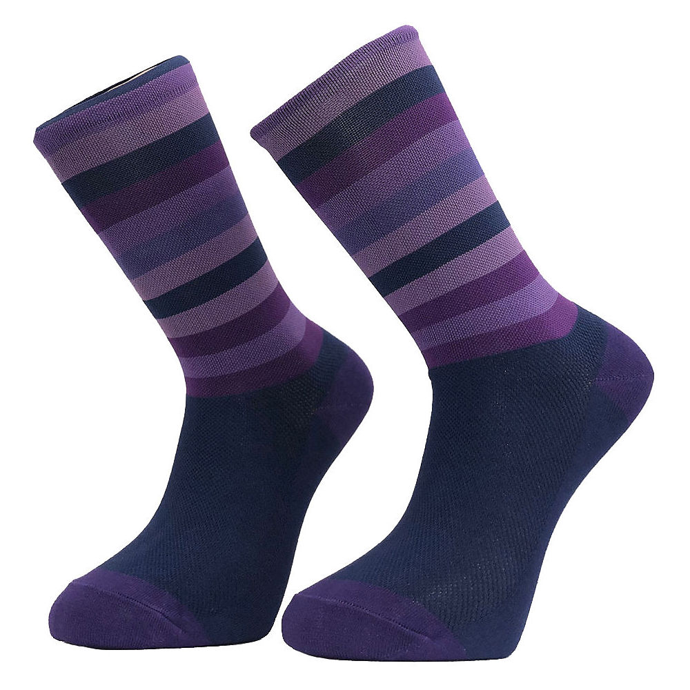 Primal Purple Stripe Socks  - S/m  Purple