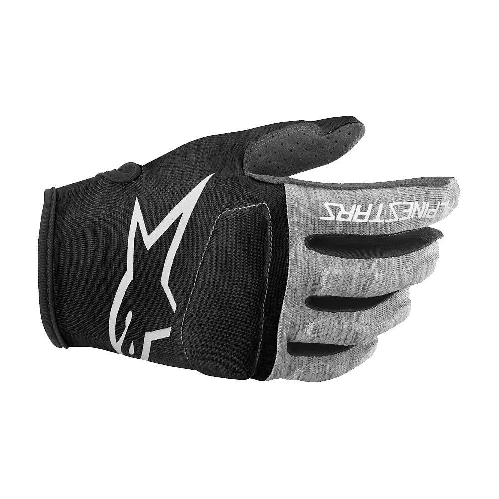 Alpinestars Youth Racer Glove  - Black-White, Black-White