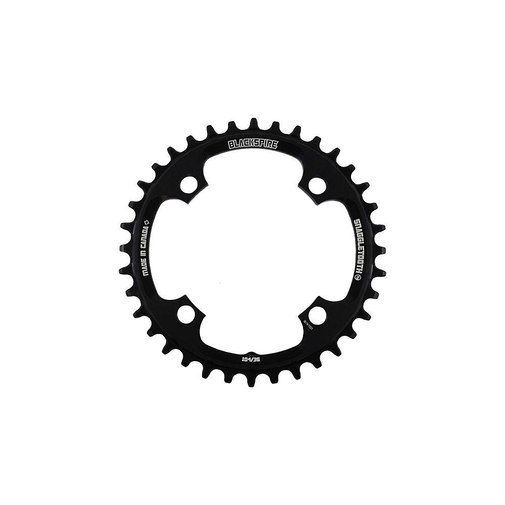 Blackspire Snaggletooth 104 Shimano Chainring - Direct Mount, Black