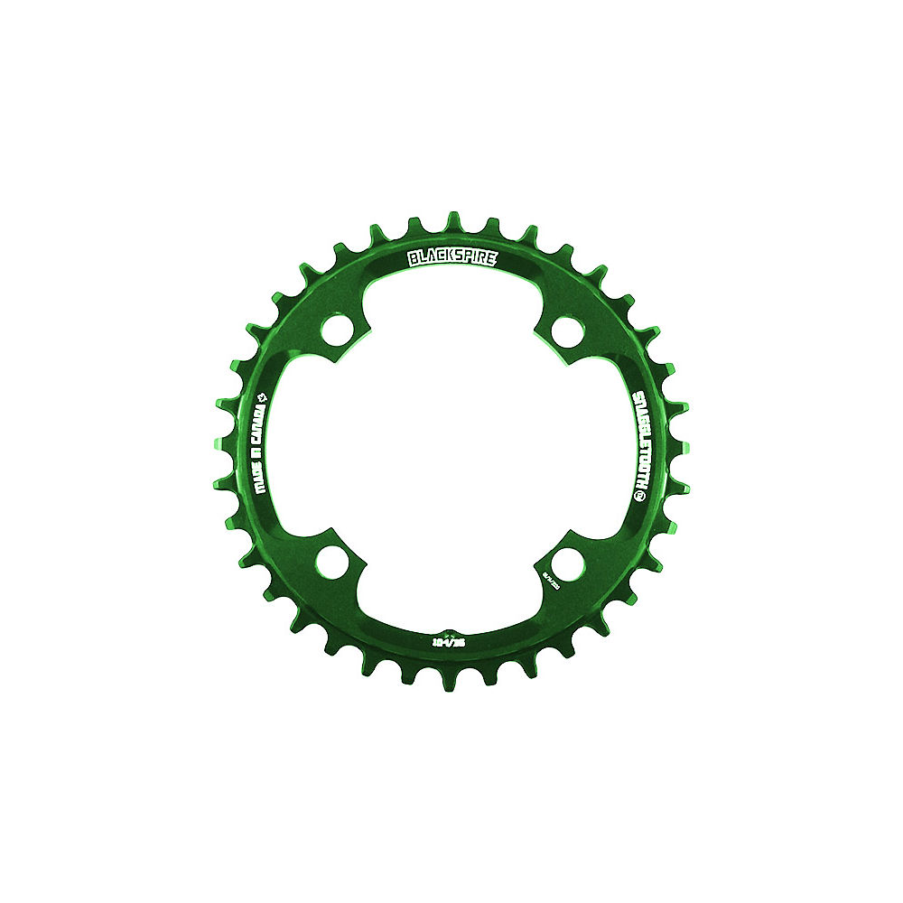 Blackspire Snaggletooth 104 Shimano Chainring - Lime Green - 4-Bolt, Lime Green