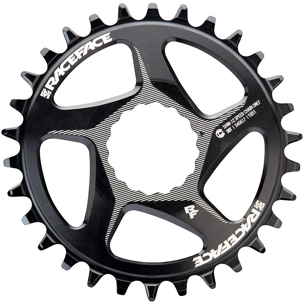 Race Face Direct Mount Shimano Chainring - Black - 34t, Black