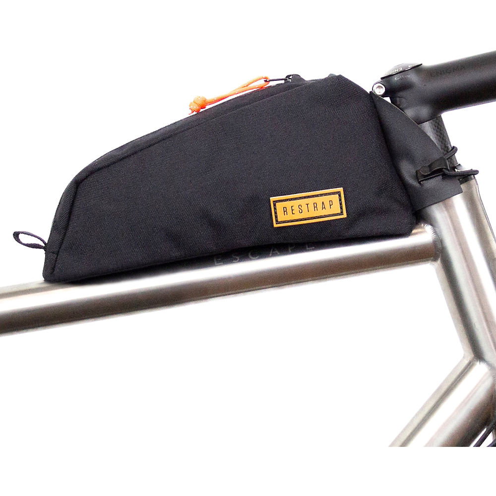 Image of Restrap Bolt On Top Tube Bag - Noir, Noir