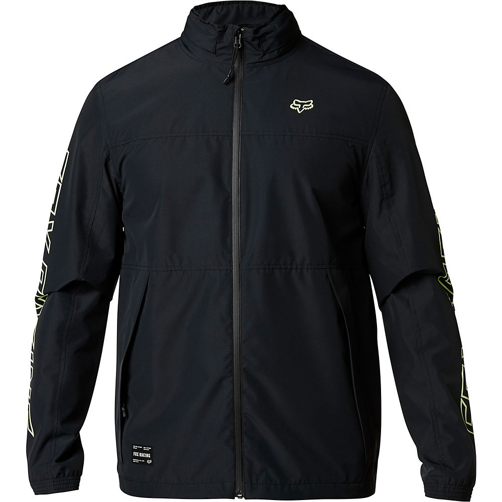 Fox Racing Cascade Jacket - Black-green  Black-green
