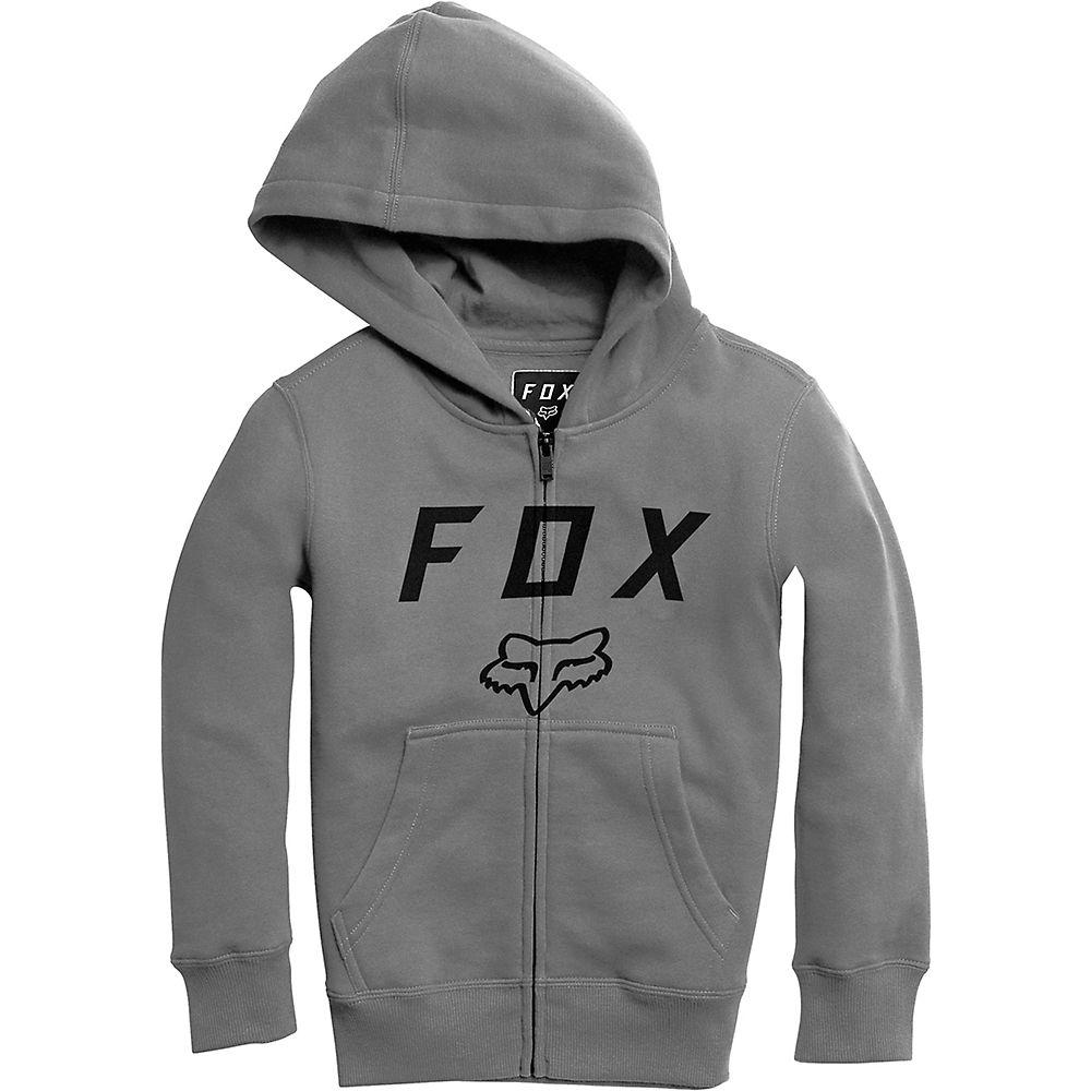 Fox Racing Youth Legacy Moth Zip Fleece Hoodie  - Grafito - XL, Grafito