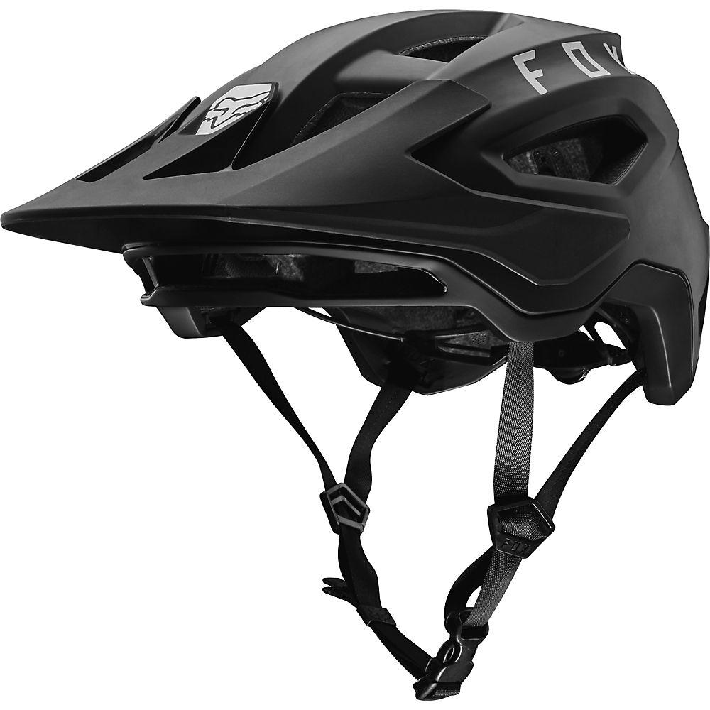 Fox Racing Speedframe MTB Helmet  – Black, Black