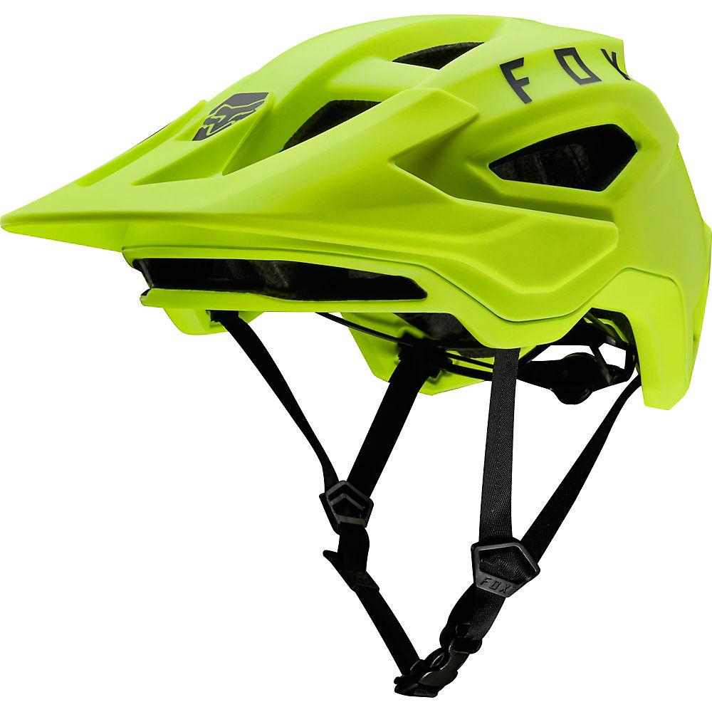 Fox Racing Speedframe MTB Helmet  – Fluo Yellow, Fluo Yellow