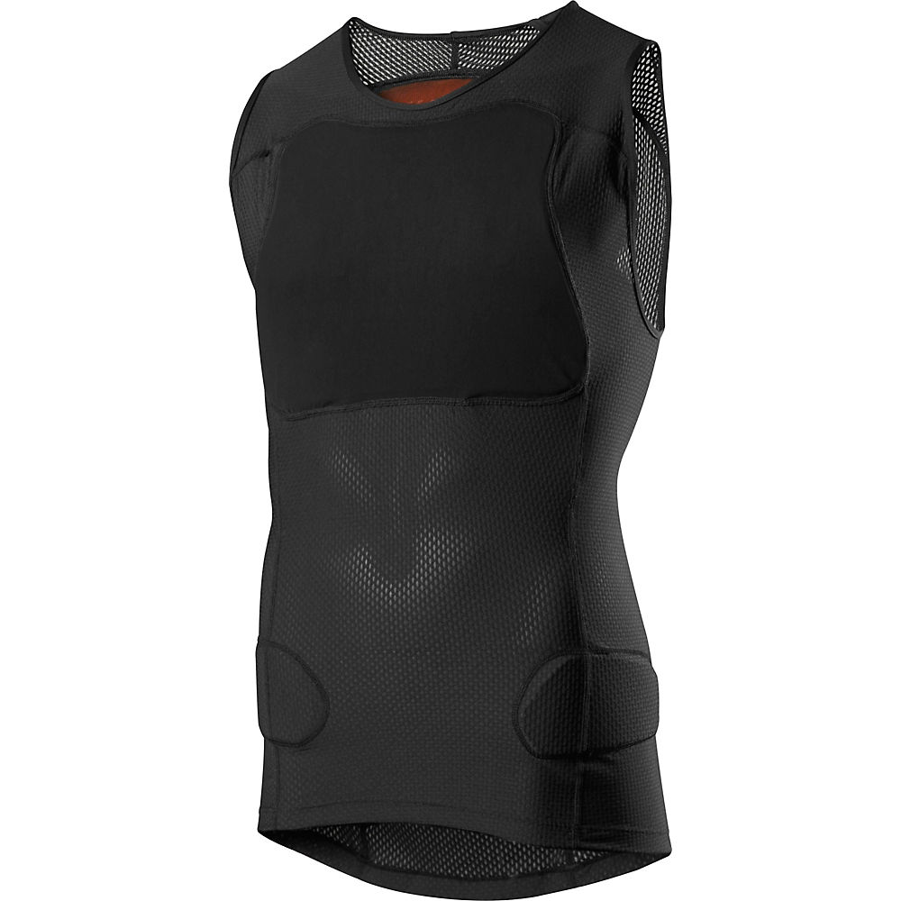 Fox Racing Baseframe Pro Sleeveless Body Protector - Black  Black