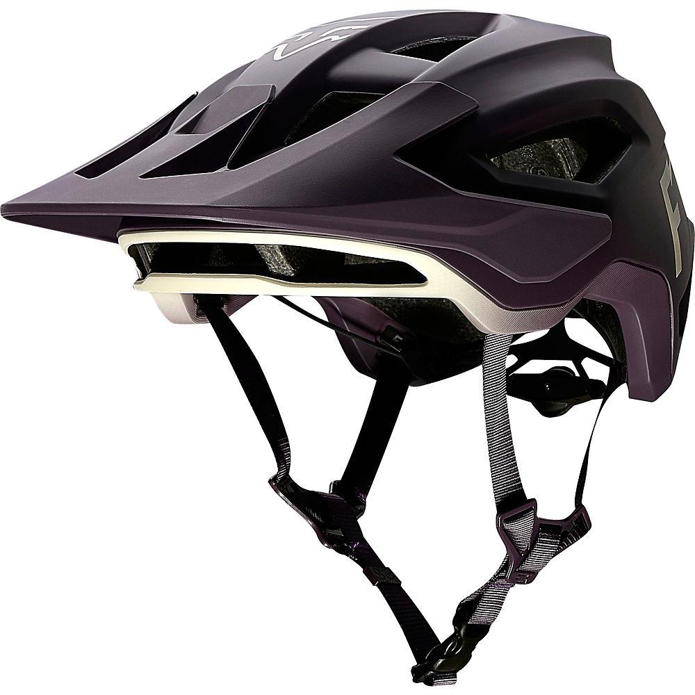 Fox Racing Speedframe MTB Helmet (Wurd)  – Dark Purple, Dark Purple