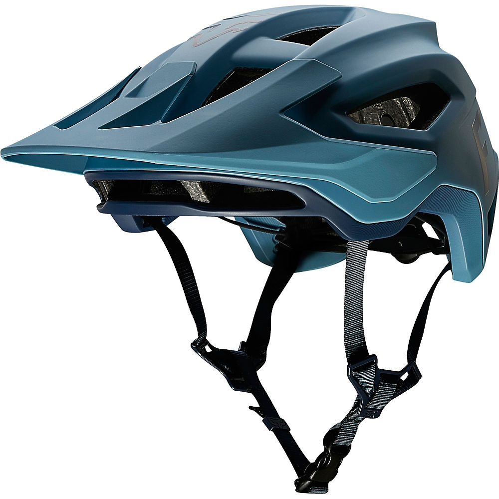 Fox Racing Speedframe MTB Helmet (Wurd)  – Light Blue, Light Blue