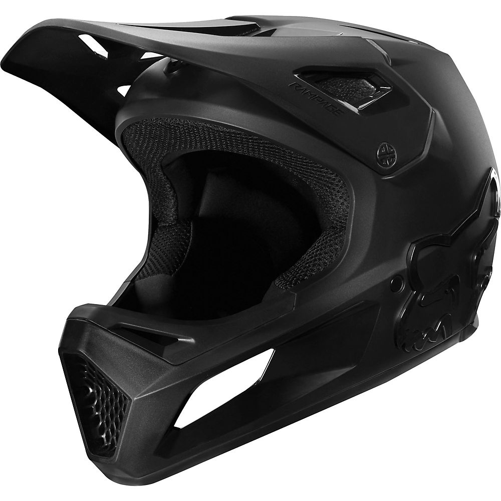 Fox Racing Youth Rampage MTB Helmet - Black - S, Black