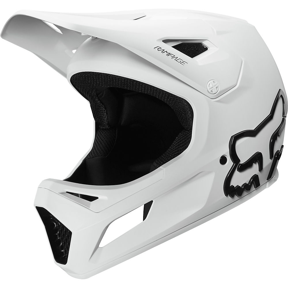 Fox Racing Youth Rampage MTB Helmet  - Blanco, Blanco