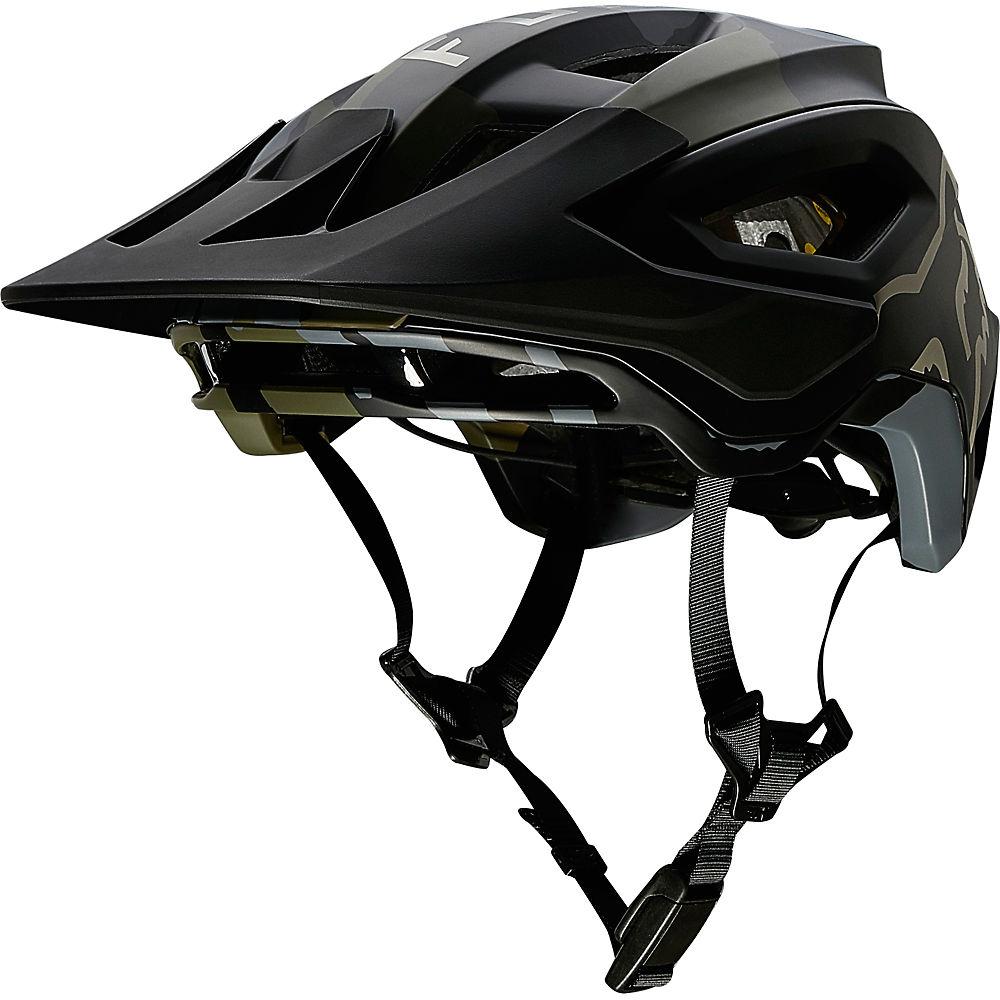Fox Racing Speedframe Pro MTB Helmet  - Green Camo, Green Camo