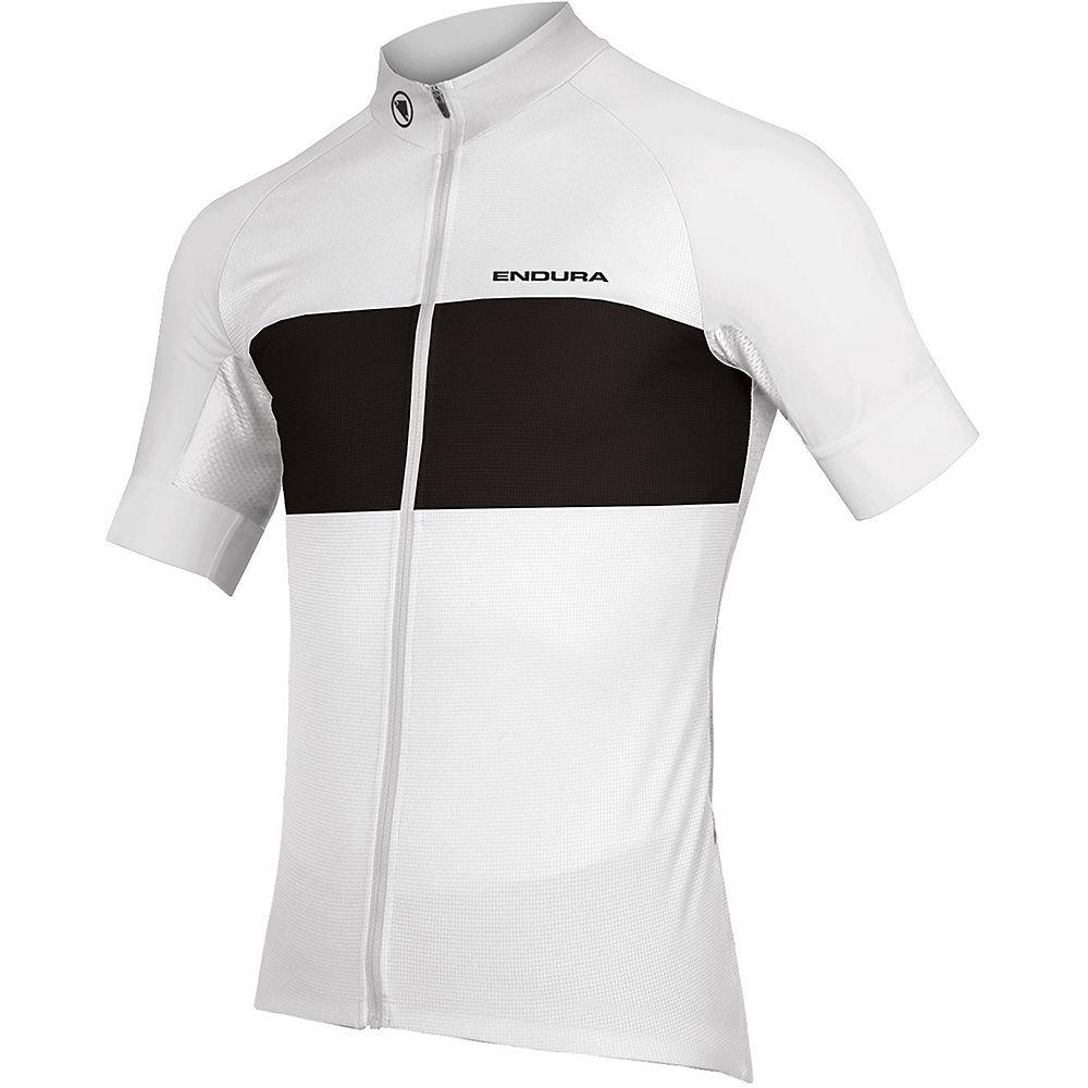Endura Fs260-pro Short Sleeve Cycling Jersey Ii - White - Xxl  White