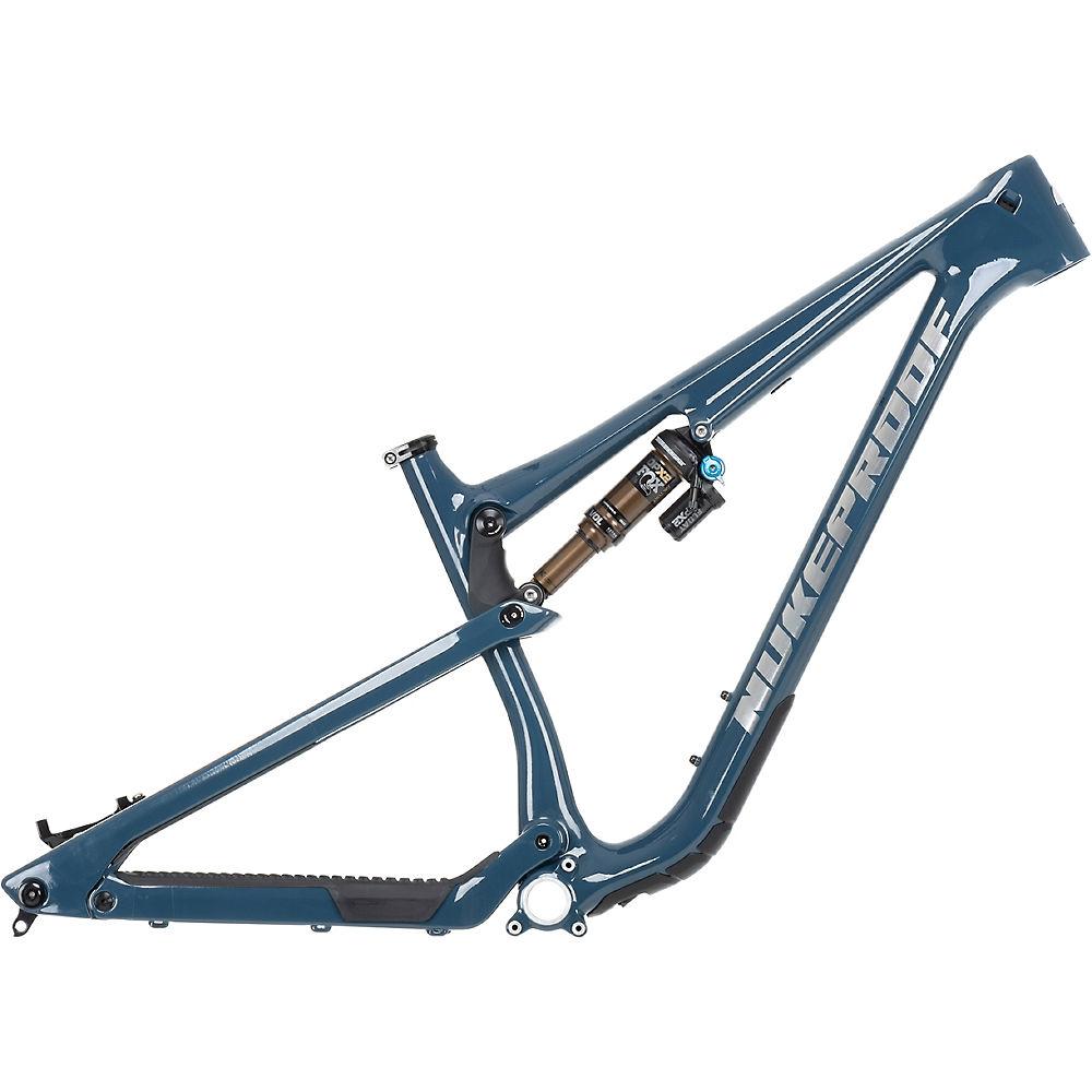 Cuadro de bicicleta de montaña de carbono Nukeproof Reactor 290 2021 - Bottle Blue, Bottle Blue