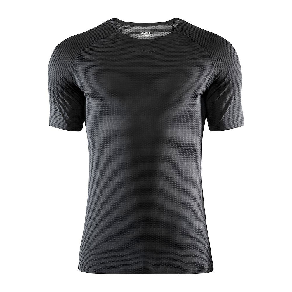 Craft Nanoweight  Short Sleeve Baselayer  - Negro - XS, Negro