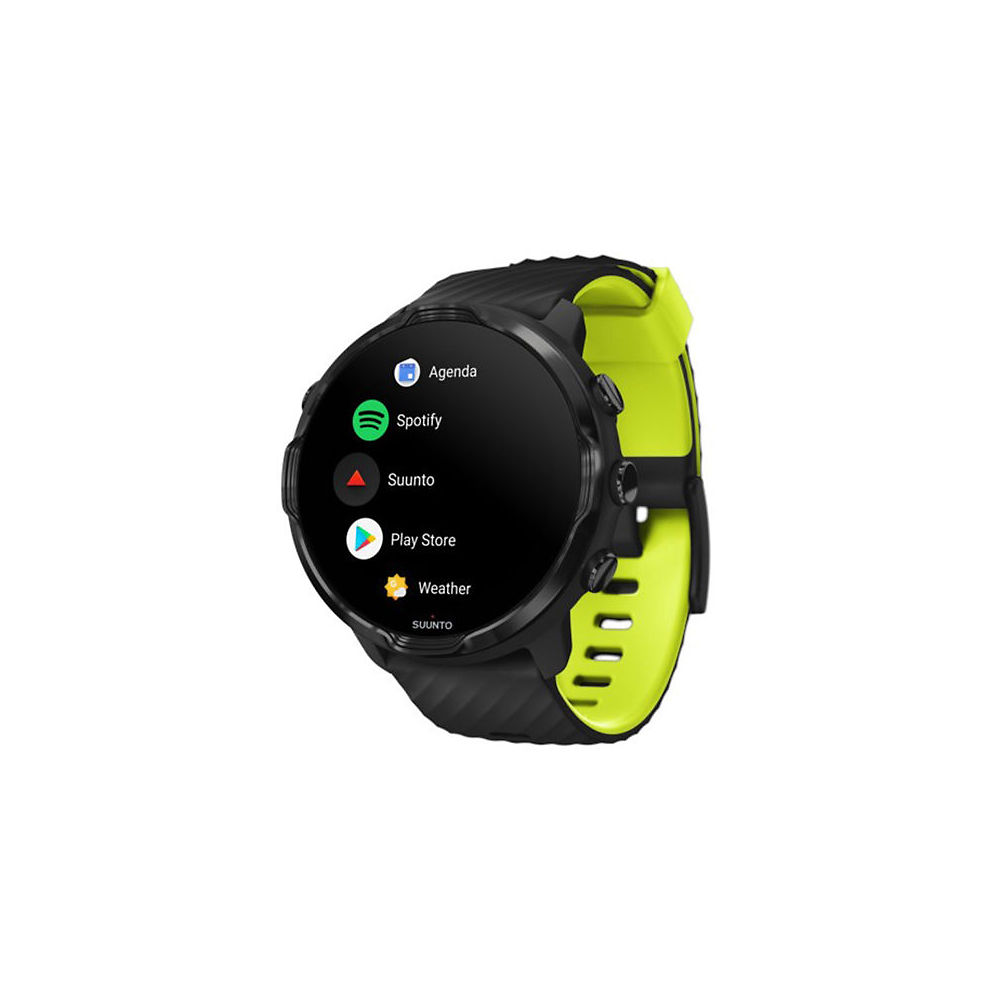 Suunto 7 GPS Watch - AU - Black Lime, Black Lime