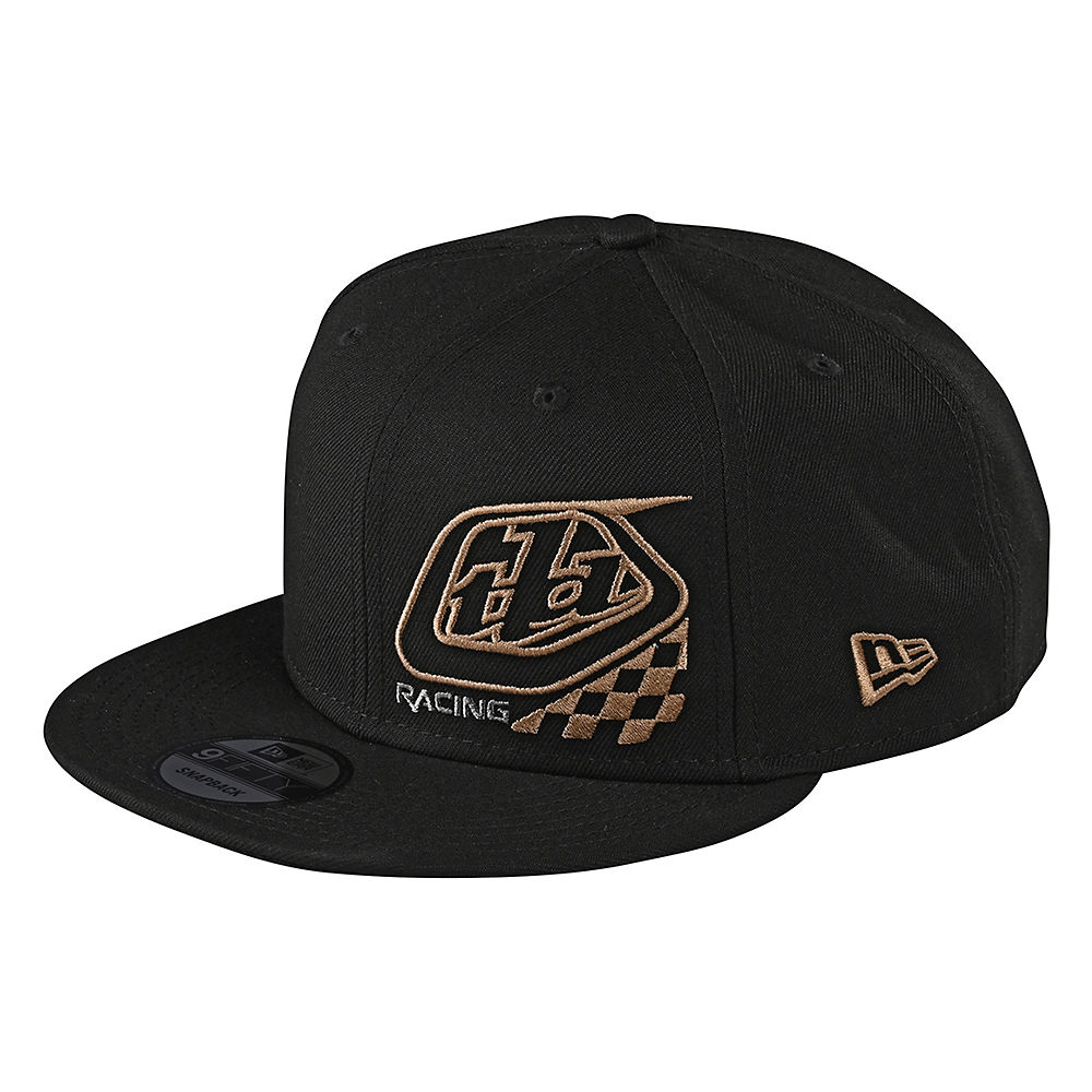 Troy Lee Designs Youth Precision 2.0 Checkers Snapback  - Black - One Size  Black