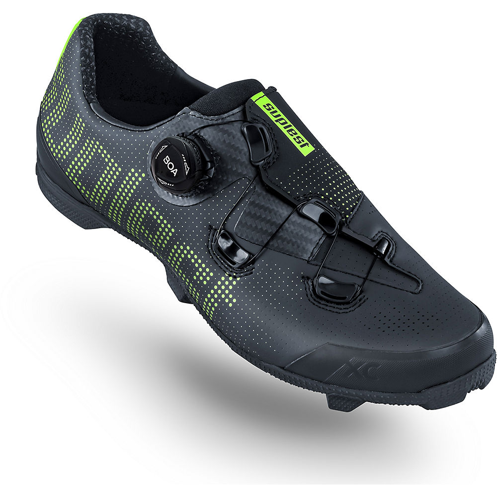 Image of Suplest Edge+ Cross Country Performance Shoes 2020 - Anthracite-Neon Yellow - EU 39, Anthracite-Neon Yellow