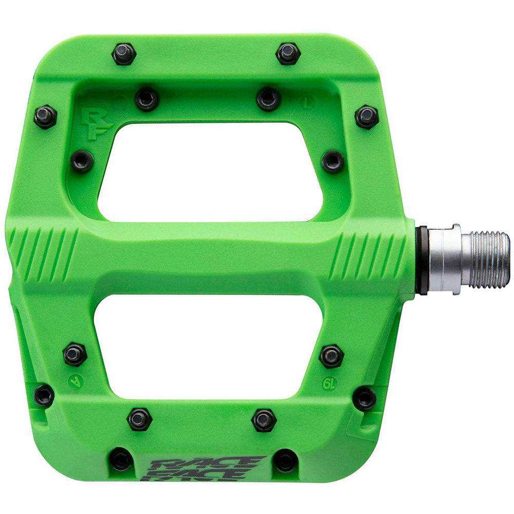 Race Face Chester Pedals - Green  Green