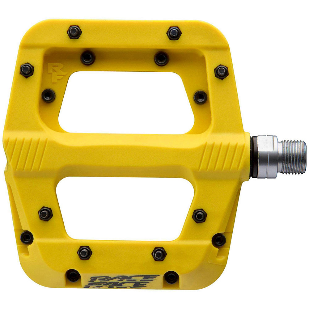 Race Face Chester Pedals - Yellow, Yellow