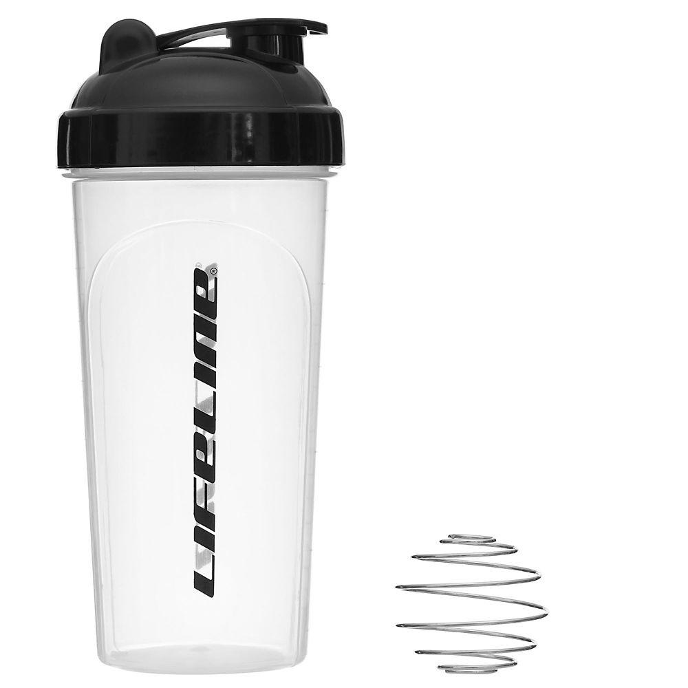 Lifeline Shaker Bottle - Clear - 600ml  Clear