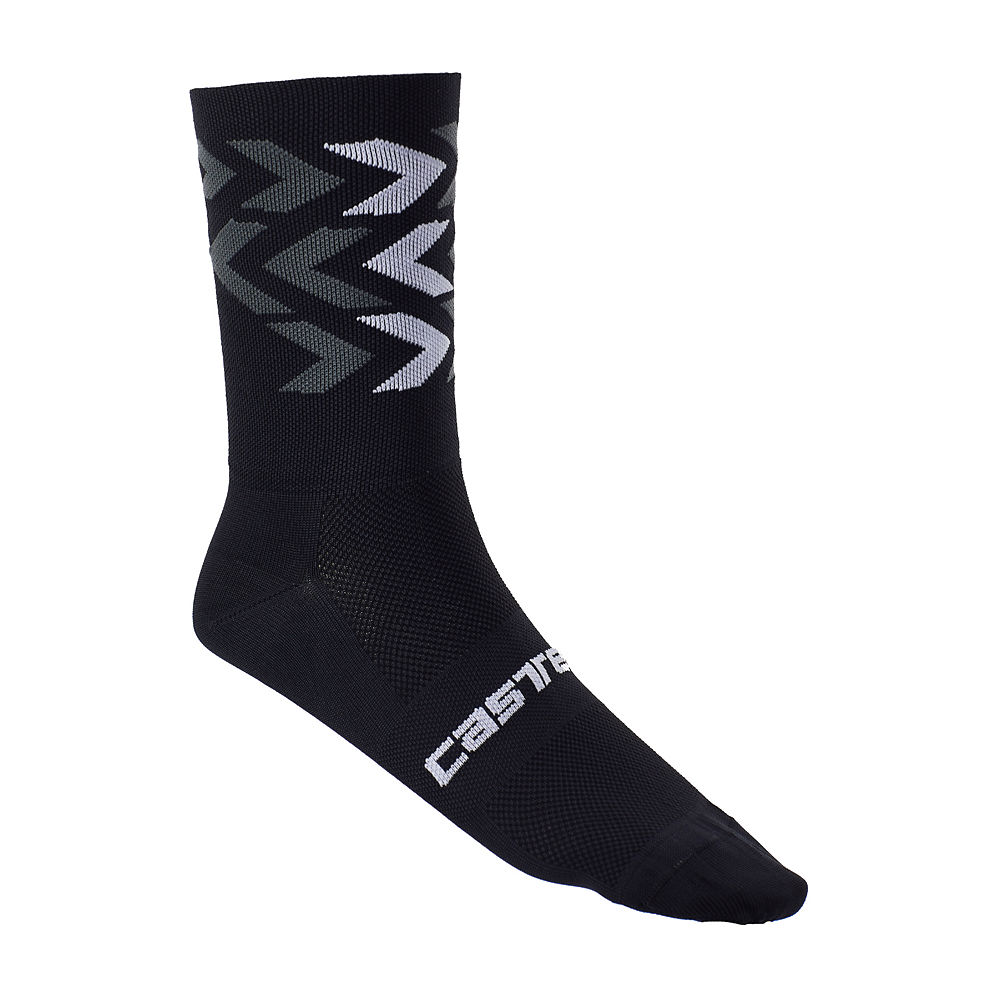 Castelli Montagna Kit Sock (Limited Edition) 2020 - Negro/Anthracite - S/M, Negro/Anthracite