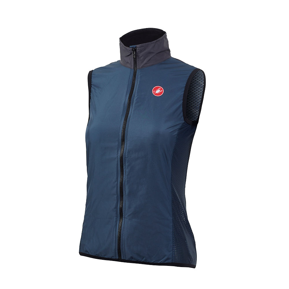 Castelli Women's Pro Light Wind Vest (Ltd Ed) 2020 – Dark Infinity Blue, Dark Infinity Blue