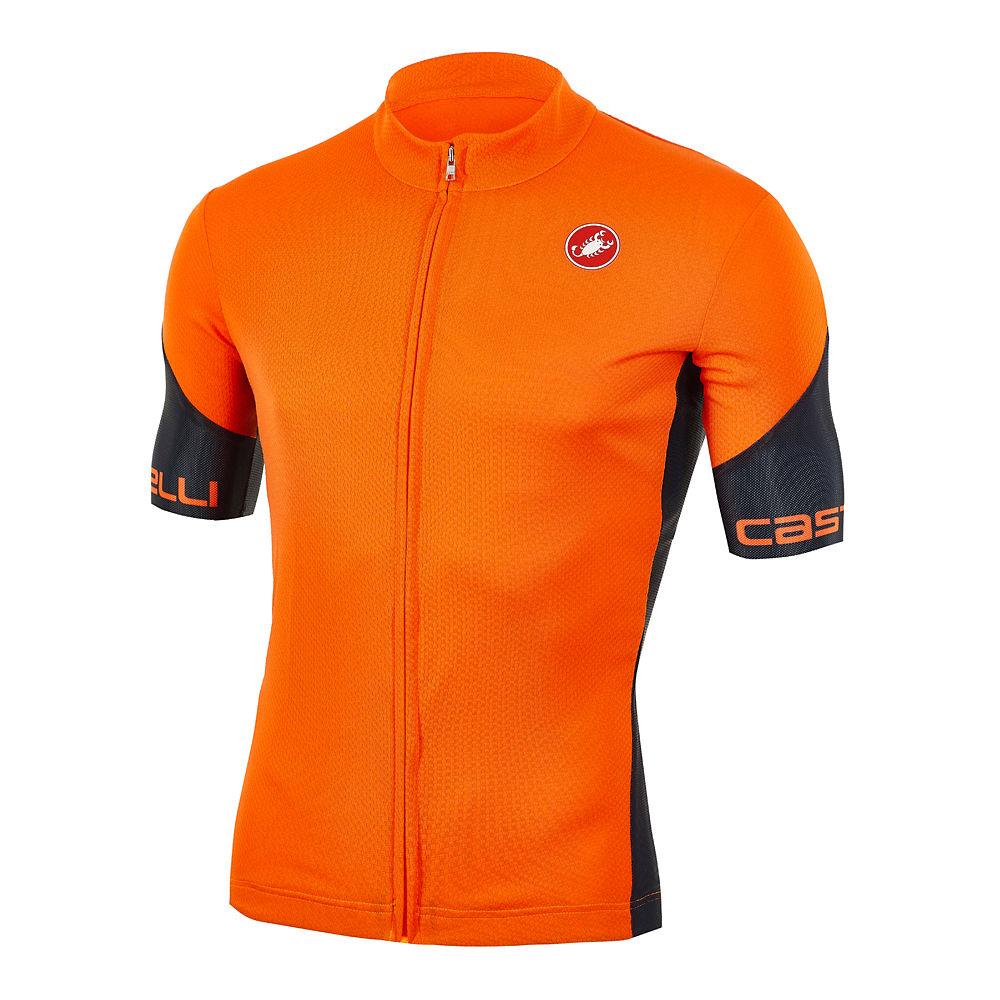 Castelli Entrata Sp Jersey (limited Edition) - Orange-black - Xxxl  Orange-black