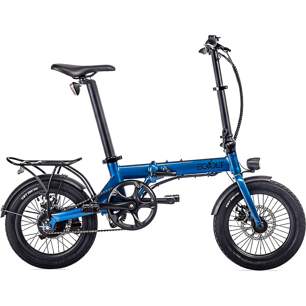 EOVOLT City Lightweight Folding E-Bike 2020 - Blue - 16