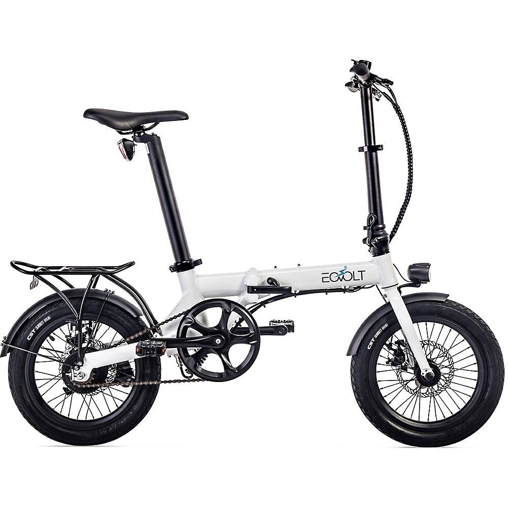 EOVOLT City Lightweight Folding E-Bike 2020 - White - 16