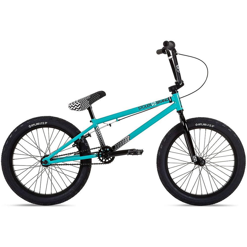 """Stolen Compact 20"""" BMX Bike 2021 - Caribbean Green, Caribbean Green"""