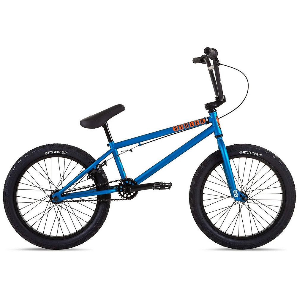 """Stolen Casino 20"""" BMX Bike 2021 - Matte Metallic Blue, Matte Metallic Blue"""