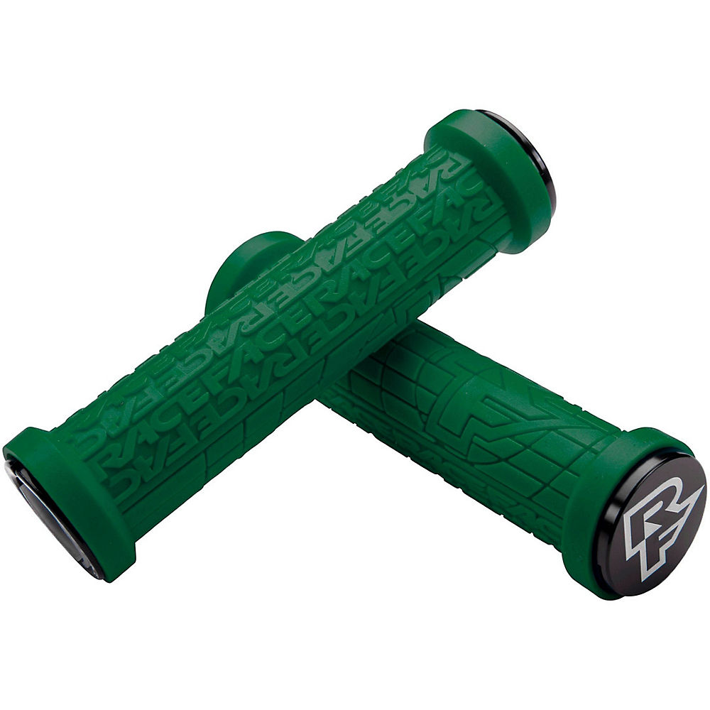 Race Face Grippler Limited Edition Lock-on Grips - Forest Green - 30mm  Forest Green