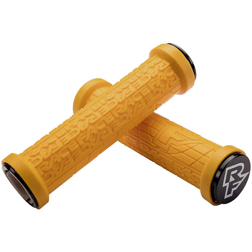 Race Face Grippler Limited Edition Lock-on Grips - Mustard Yellow - 33mm  Mustard Yellow