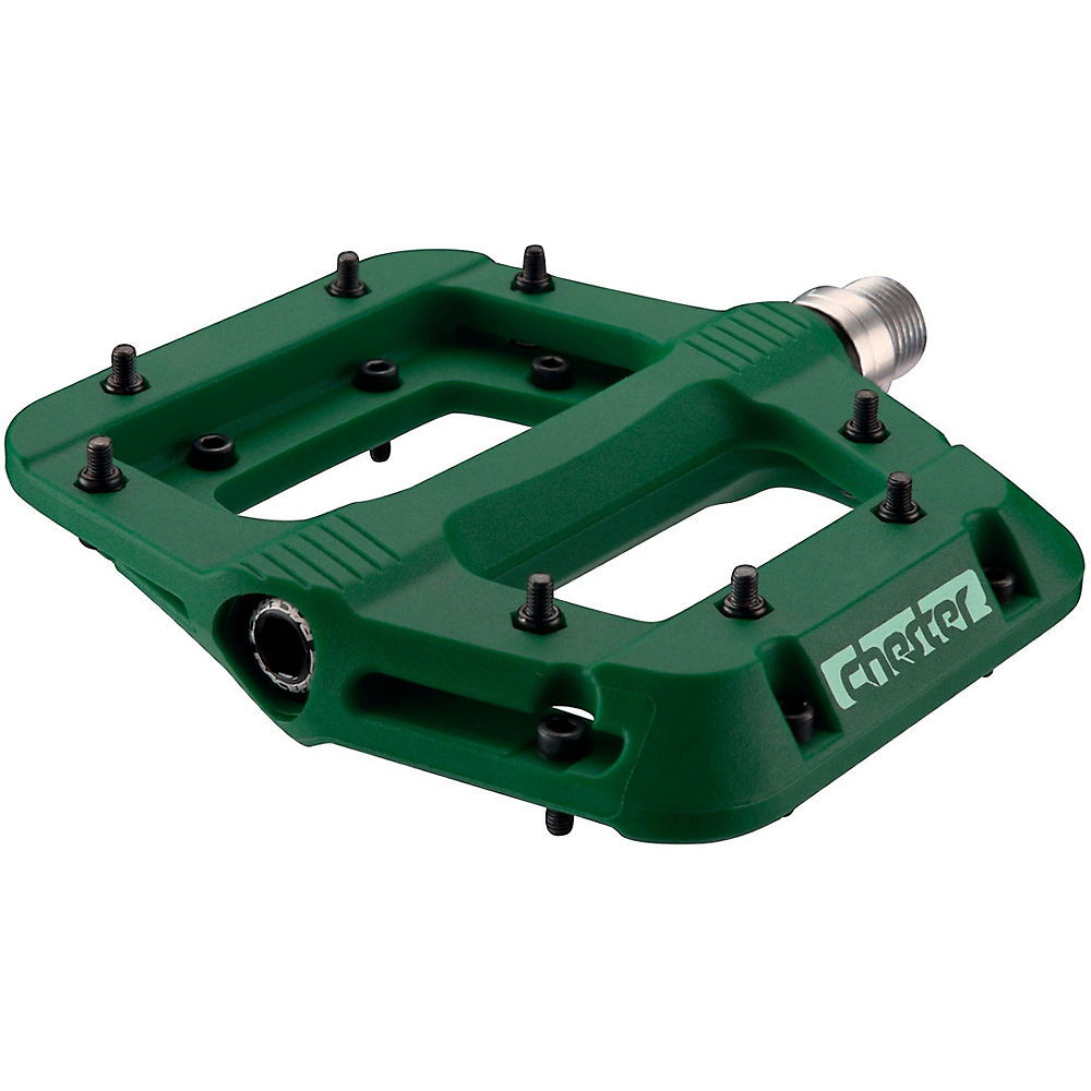 Race Face Chester Limited Edition Pedals - Forest Green  Forest Green