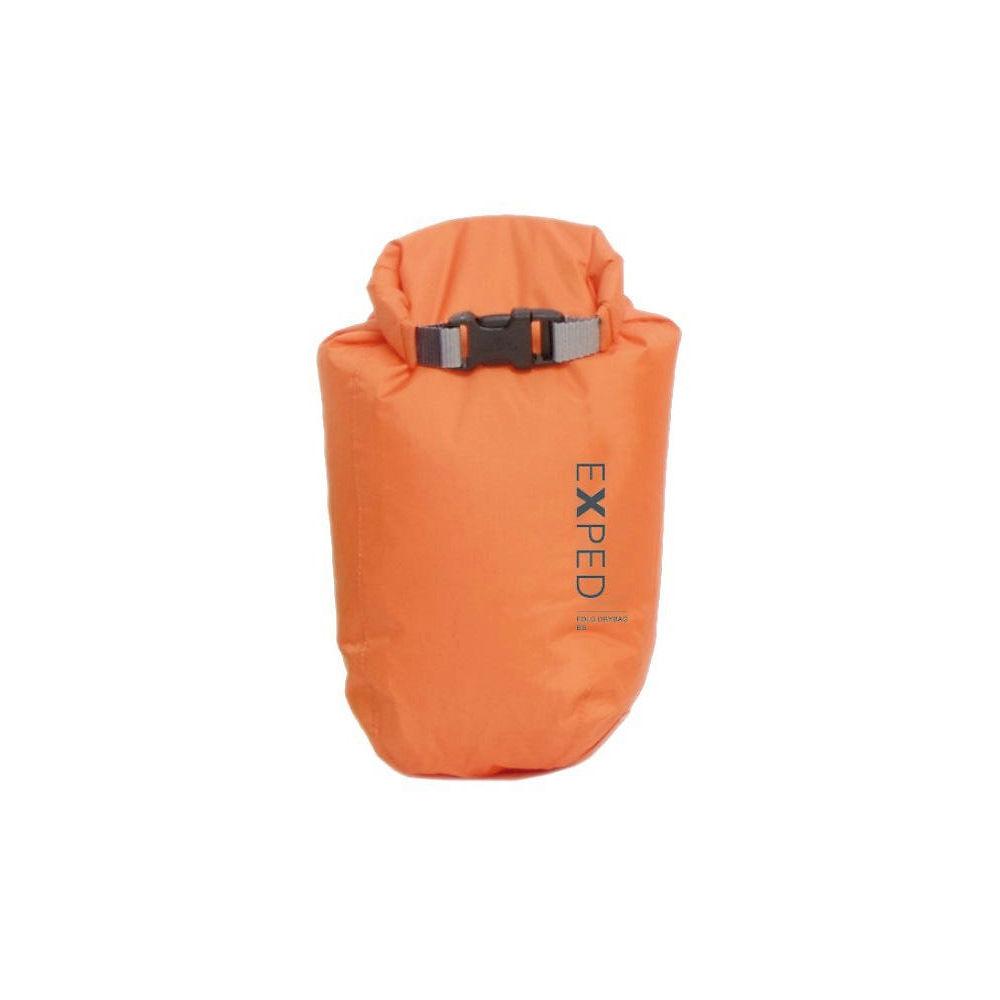 Image of Exped Fold-Drybag BS XS (3L) - Orange - OS, Orange