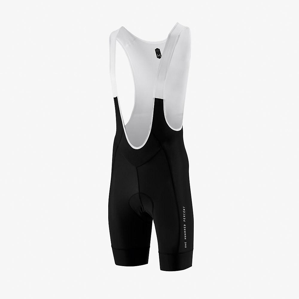 100% Exceeda Bib Shorts  - Black, Black