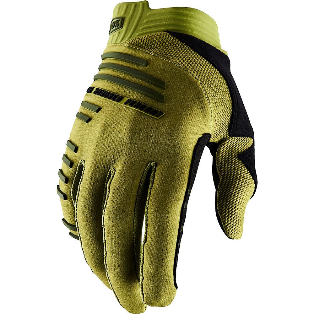 100% R-Core Gloves  - Olive, Olive