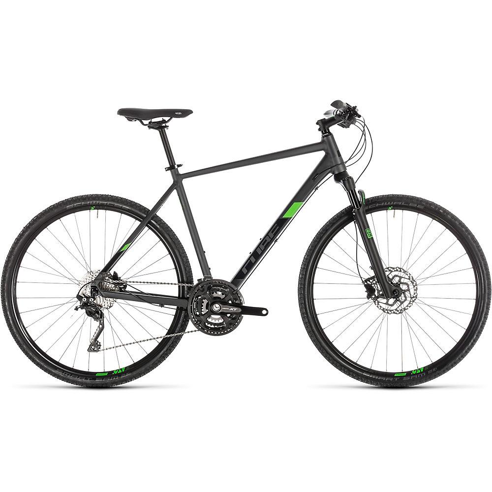 "Cube Cross Pro Urban Bike 2019 - Iridium - Green - 46cm (18""), Iridium - Green"