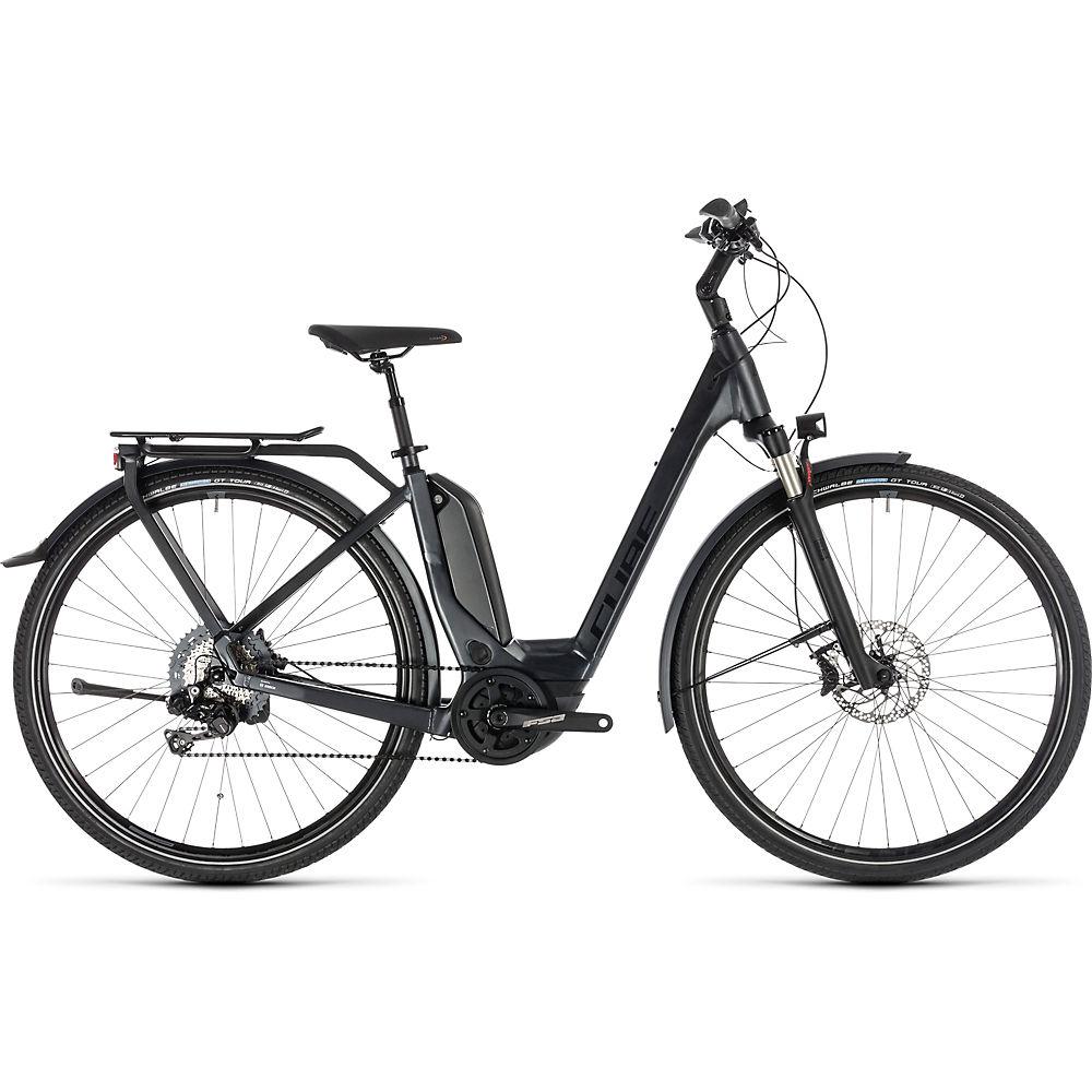 Cube Touring Hybrid SL 500 E-Bike 2019 - Iridium - Red - 46cm (18