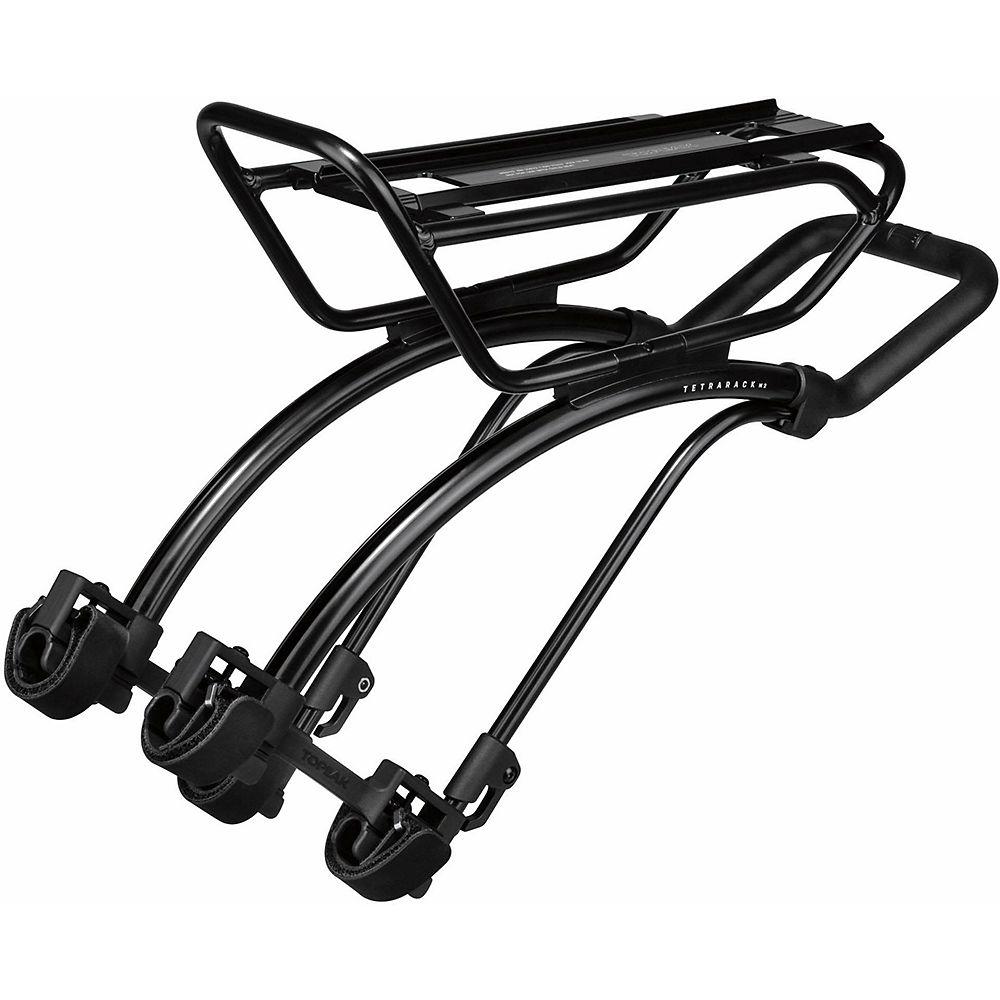Topeak TetraRack M2 MTB Seatstay Rack - Black, Black