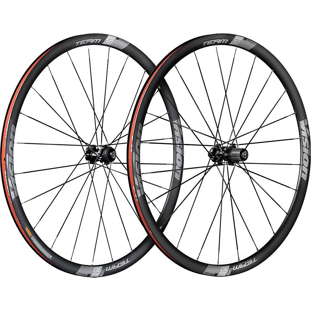 Vision Team 30 Carbon Disc Brake Wheelset - Shimano Centre Lock, Carbon